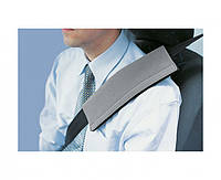 Подушка на ремень безопасности, серая, размер универсальный