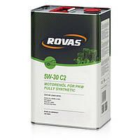 Моторное масло Rovas 5W-30 С2 (4л.)