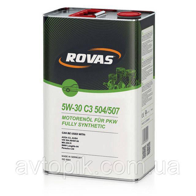 Моторное масло Rovas 5W-30 С3 504/507 (1л.)