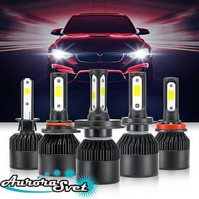 Автомобильные LED лампы в фары автомобиля