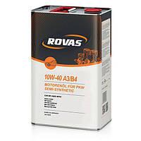 Моторное масло Rovas 10W-40 A3/B4 (4л.)
