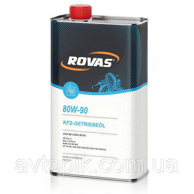 Трансмиссионное масло Rovas 80W-90 (1л.)