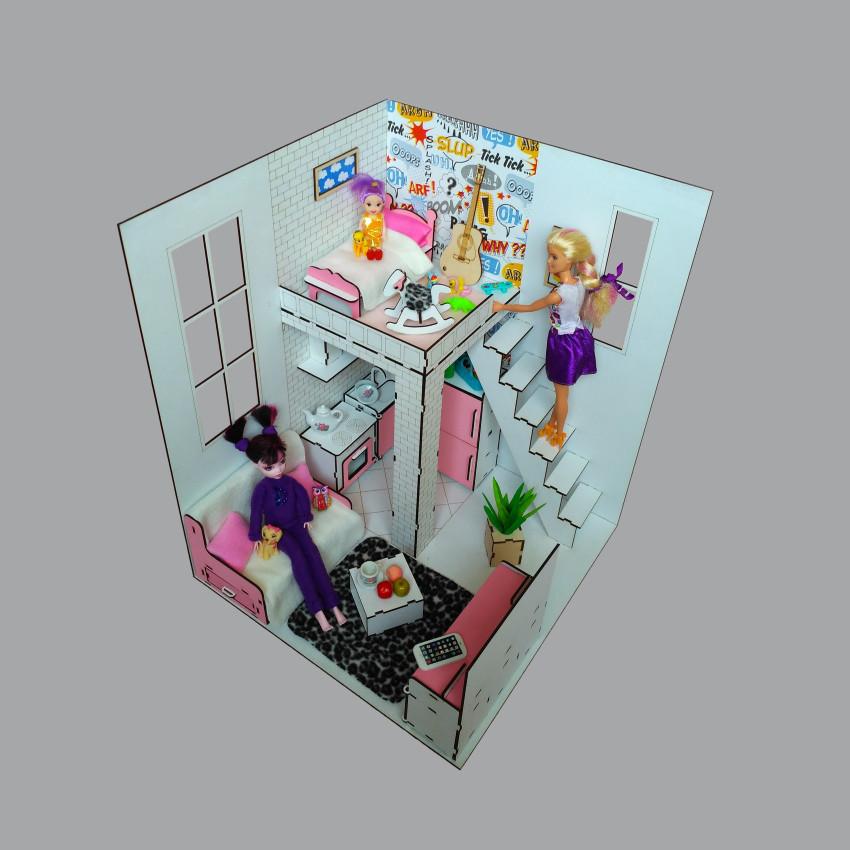 7002ROOMBOX №2 Пентхаус с мебелью