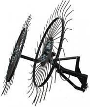 Грабли ворошилки-солнышко большие Премиум на 2 колеса (1,2м)