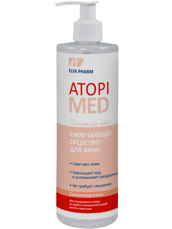Засіб для ванн пом'якшуючий Atopi Med