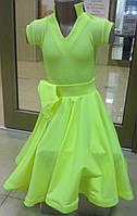 Бейсик, рейтинговое платье для спортивно-бальных танцев