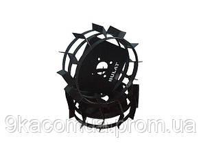 Колеса с грунтозацепами Ø 380мм (квадрат 10х10, высота зацепа 40 мм)Агромарка