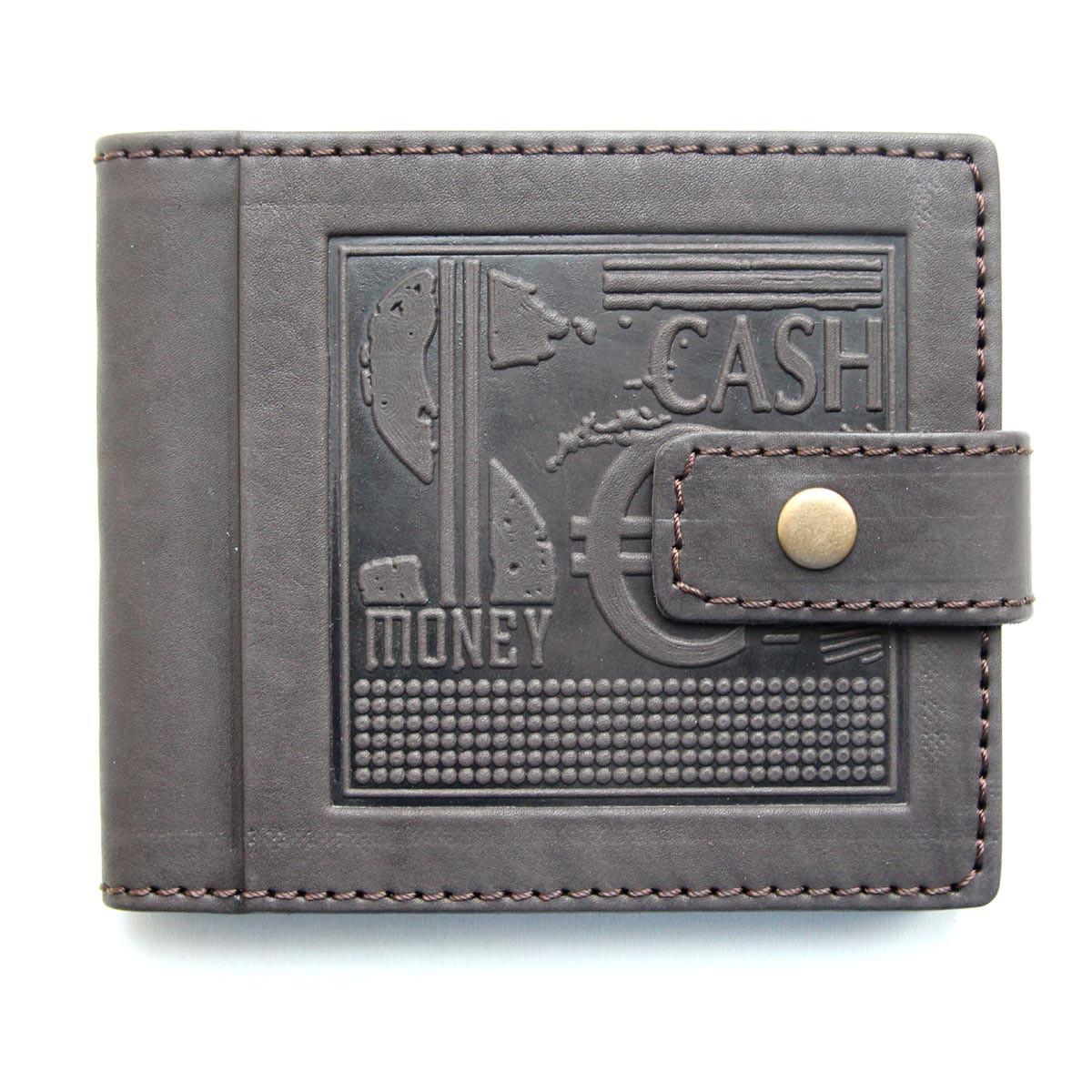"""Кожаный кошелек """"CASH MONEY"""" ручной работы"""