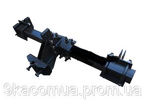 Сцепка для мотоблоков ЗПС-2 двойная Корунд