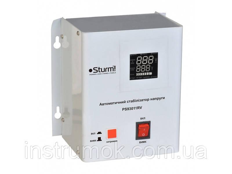 Стабилизатор напряжения релейный Sturm 1000 ВA настен. PS93011RV