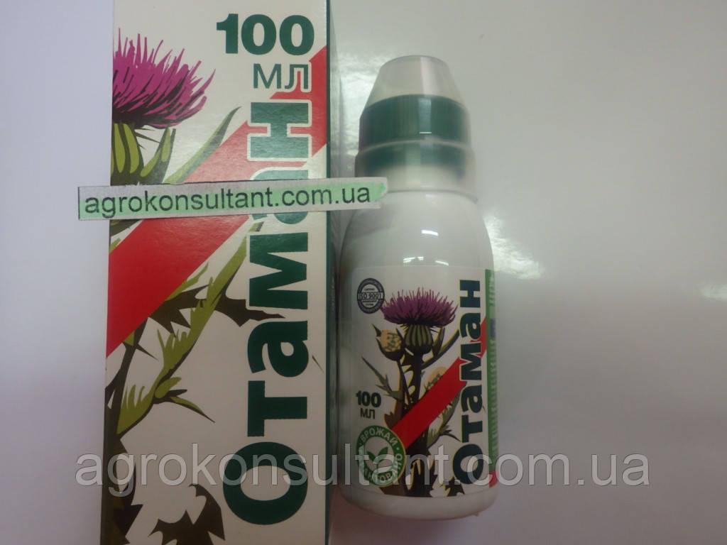 Отаман гербицид, десикант, сплошного действия,100 мл — системный, от множества сорняков