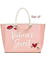 """Стильная пляжная сумка """"Victoria'S Secret"""""""