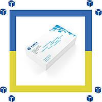 Печать на конвертах формата ТВ4 1+1 (черно-белые двусторонние)