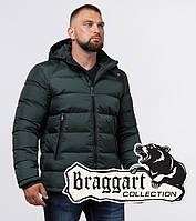 Куртка мужская на зиму Braggart 32540 зеленый