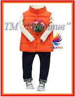 Пошив жилетов стеганных детских под заказ от 50 шт., фото 1