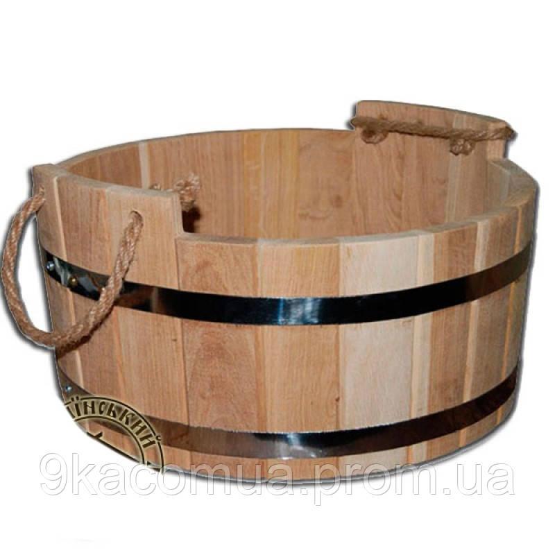Шайка для бани дубовая 18 л М