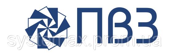 ПВЗ - логотип производителя промышленных вентиляторов (Полтавский вентиляторный завод)