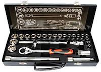 """Профессиональный набор инструментов Intertool 1/2"""", 26 предметов (ET-6027)"""