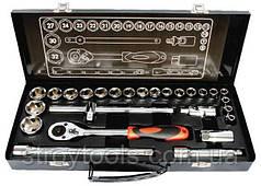 """Професійний набір інструментів Intertool 1/2"""", 26 предметів (ET-6027)"""