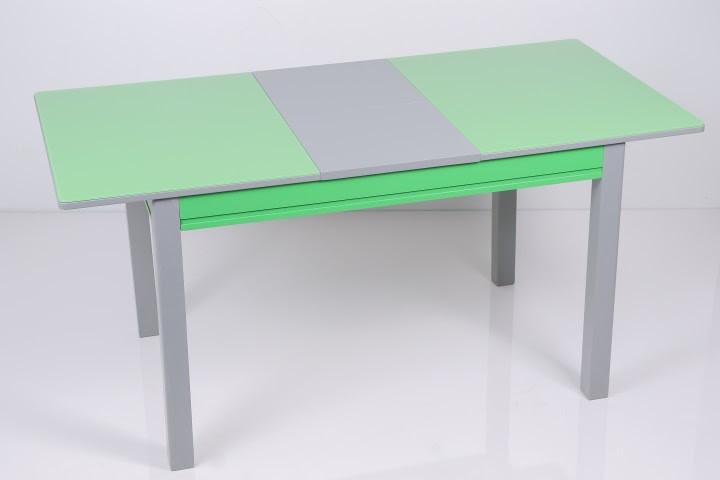 Стол кухонный стеклянный Сан-Ремо ТМ Биформер, зеленый