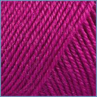 Пряжа для вязания Valencia Australia, 30% шерсть, 6% шелк, 64% акрил, 782 цвет малиновый