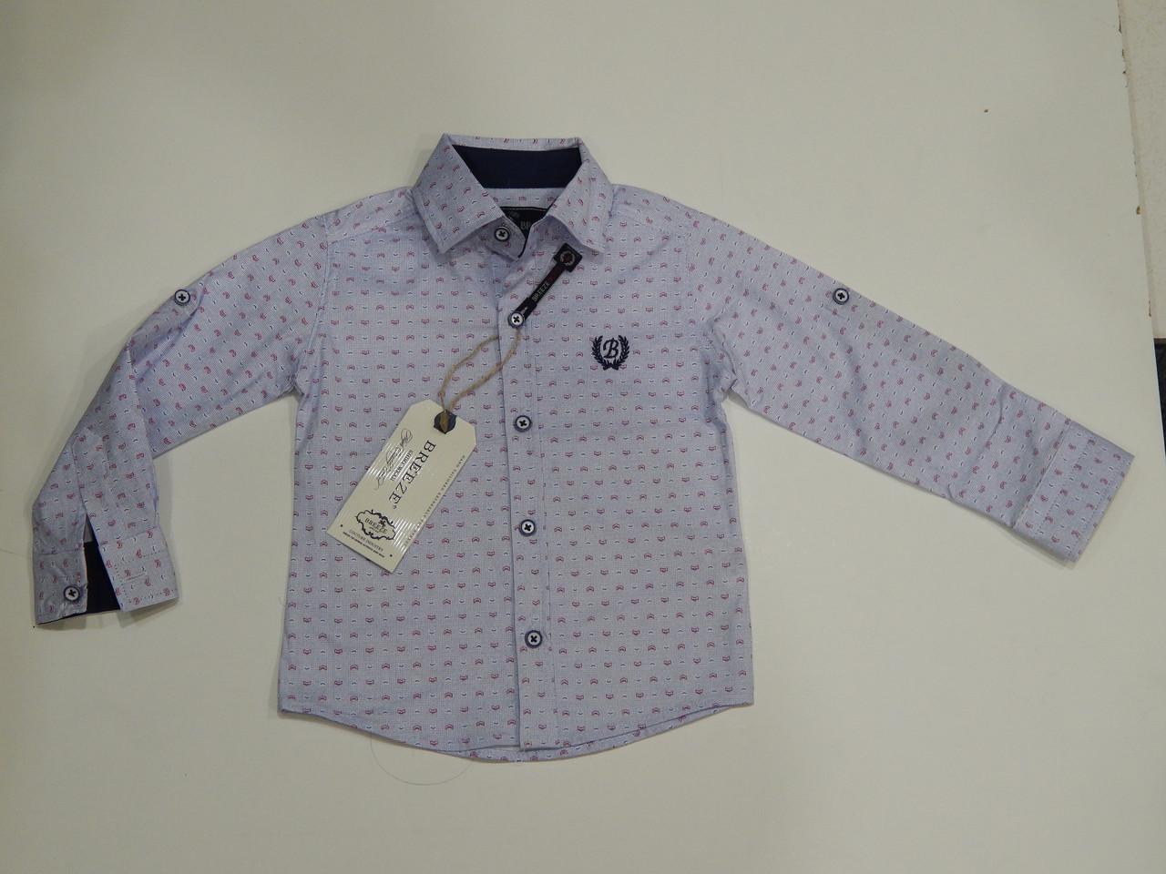 Сорочка для хлопчика ТМ Breeze бавовна Туреччина р. 74-98