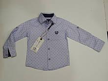 Рубашка для мальчика ТМ Breeze хлопок Турция р.74-98