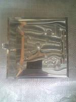 Дверца сажетруска нержавейка №4  в.80*80 мм н.135*135 мм
