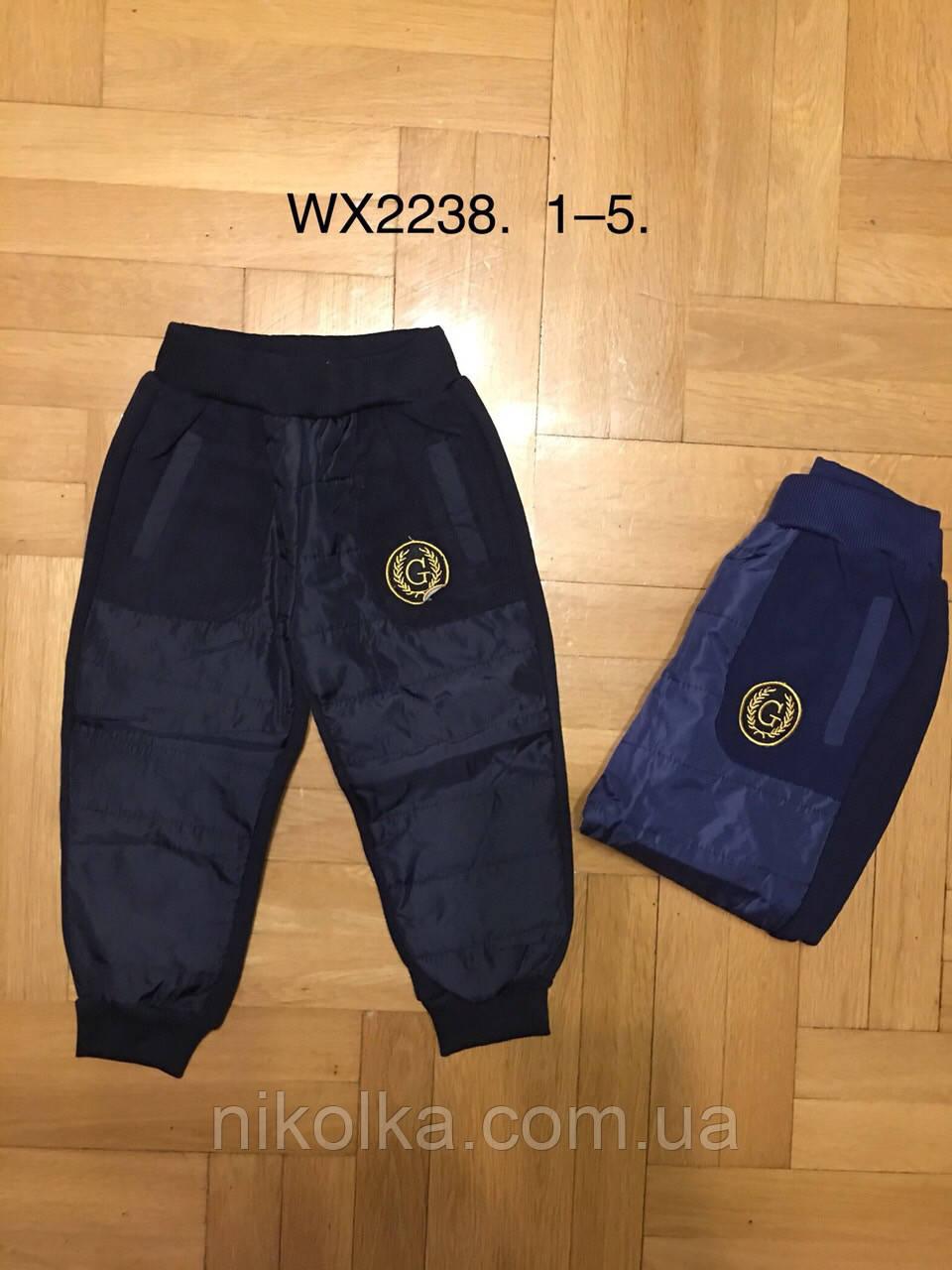 Спортивные брюки на меху для мальчиков оптом, F&D, 1-5 лет, арт. WX-2238