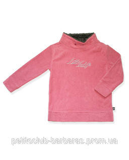 Свитер флисовый Little Lady для девочки розовый р. 116-140 см (QuadriFoglio, Польша)