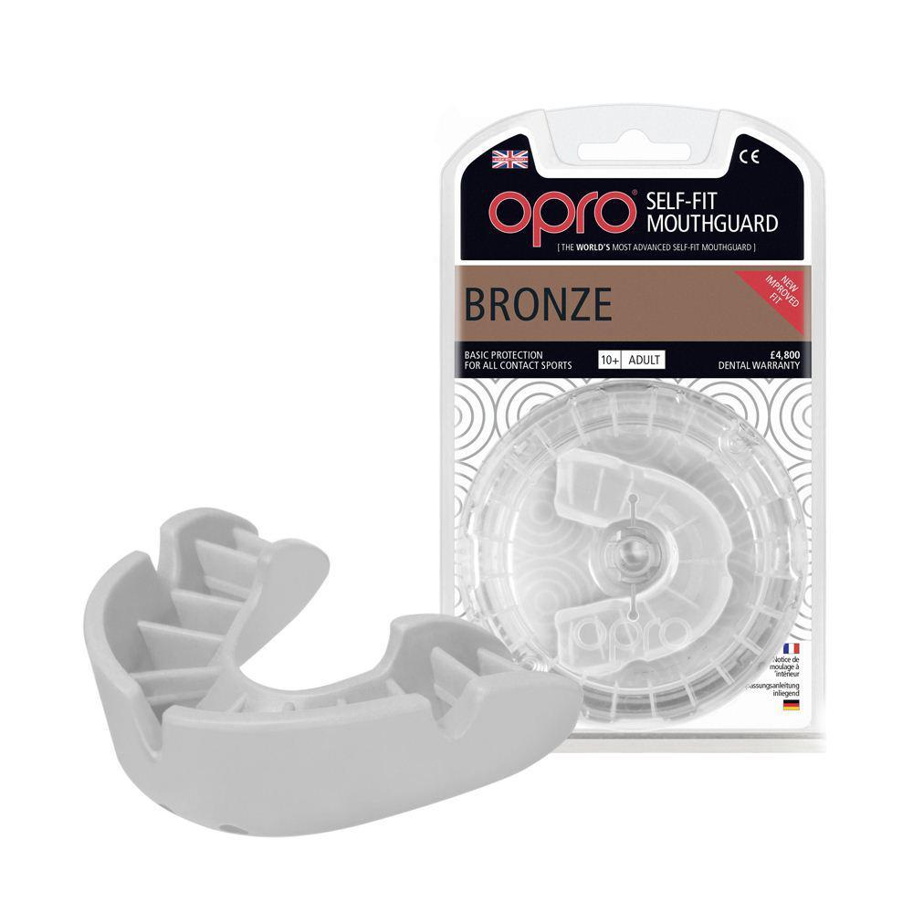 Капа OPRO Bronze While(art.002184006)