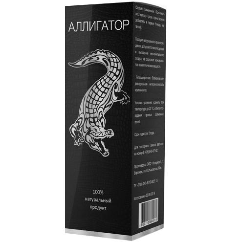 Алігатор - краплі для потенції / ерекції