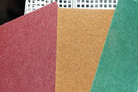 Нетканный абразивный материал скотчбрайт NPA400 Klingspor (152х229мм) р180, KORUND