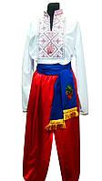 Мужской Украинский костюм с вышивкой
