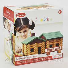 Домик деревянный Е 21363  в коробке