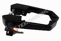 Ручки дверные наружные МАЗ, комплект (правая, левая ручка дверей), 2 ручки кабины + ключи (5336-6105040-99)