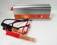 Преобразователь авто инвертор 12V-220V 2500W USB, фото 3