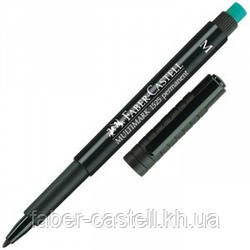 Маркер перманентный Faber-Castell Multimark OHP 1525  M (1,0 мм) чёрный, 152599