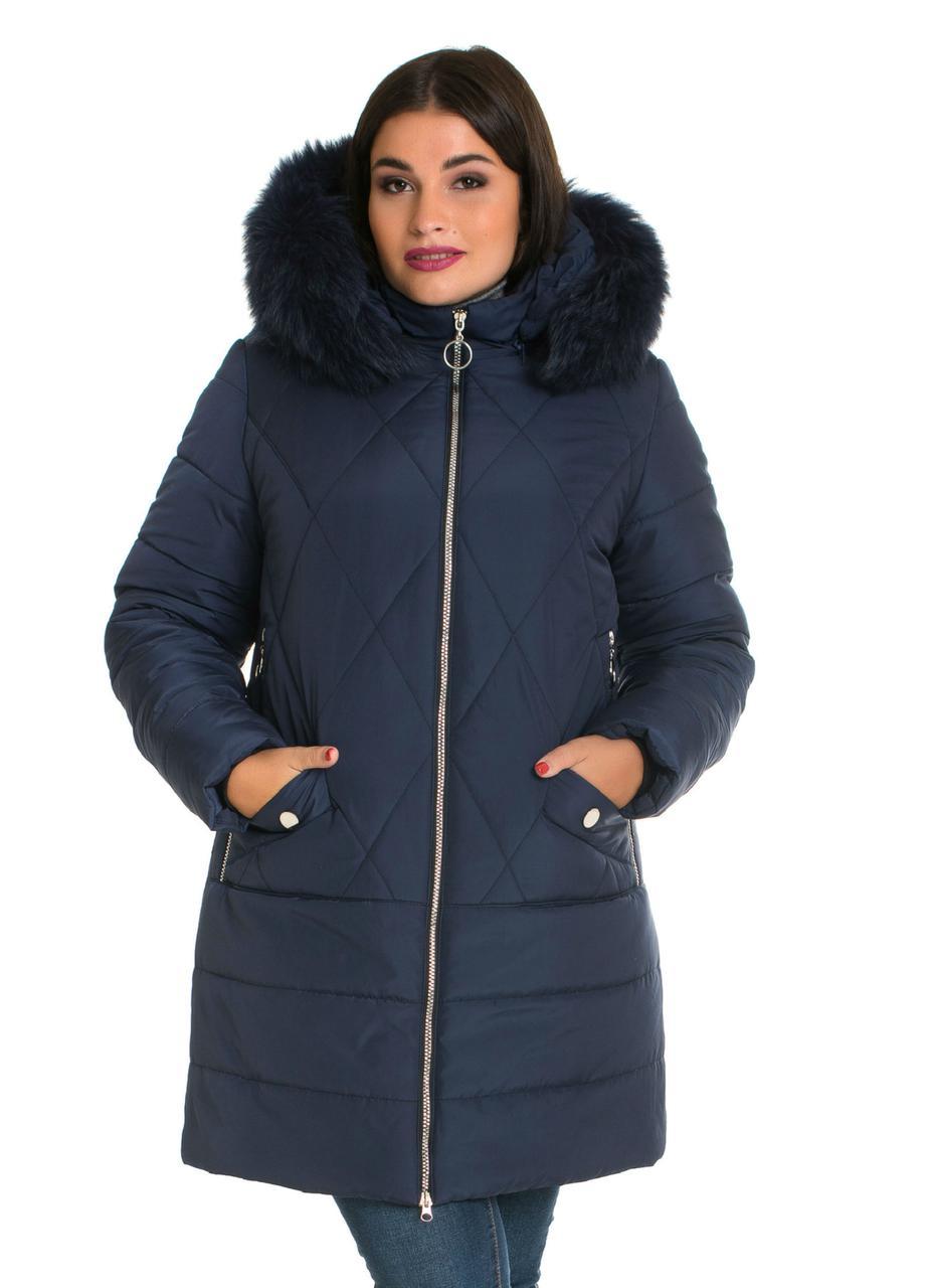 Зимова куртка з хутром від виробника