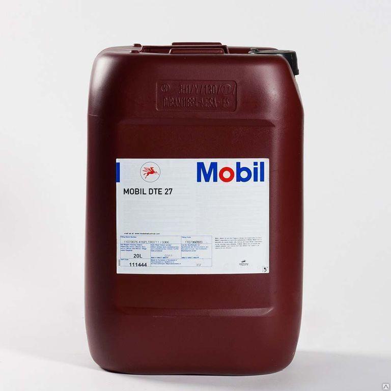 Масло гидравлическое MOBIL DTE  27 для работы в системах, эксплуатируемых в самых жестких условиях 20л
