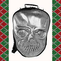 Мужской черный рюкзак 3D, с черепом