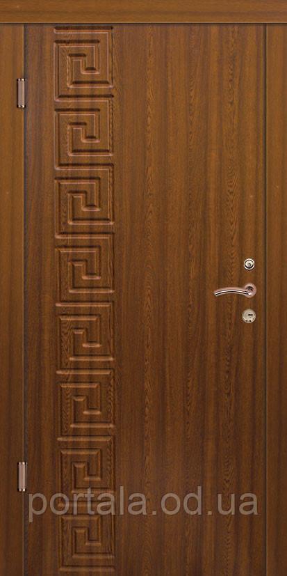 """Входная дверь для улицы """"Портала"""" (Стандарт Vinorit) ― модель Цезарь-2"""