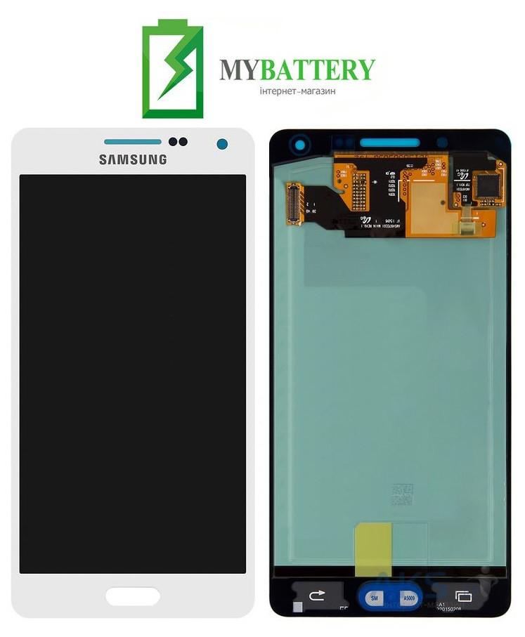 Дисплей (LCD) Samsung A500F Galaxy A5 Duos/A500FU/A500H (2015) TFT с сенсором белый