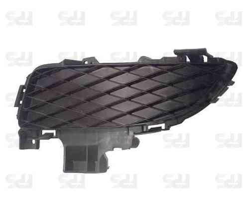 Решетка бампера Mazda 3 04-06 Седан без ПТФ, левая (FPS)