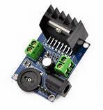 Мини стерео усилитель 2х15Вт (TDA7297) АВ клас, фото 2