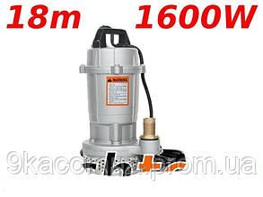 Насос фекальный для чистой и грязной воды 1600В S