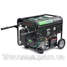 Генератор бензиновый Iron Angel EG 7000 E (6,5 кВт, 1 фаза, электростартер)