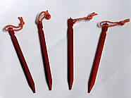 Кілочки / Кілки/ Наметові, тентові тощо, тригранні (Y-peg) /Колышки, фото 2