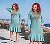 Платье уголок женское ат 0116 гл, разные цвета, фото 4