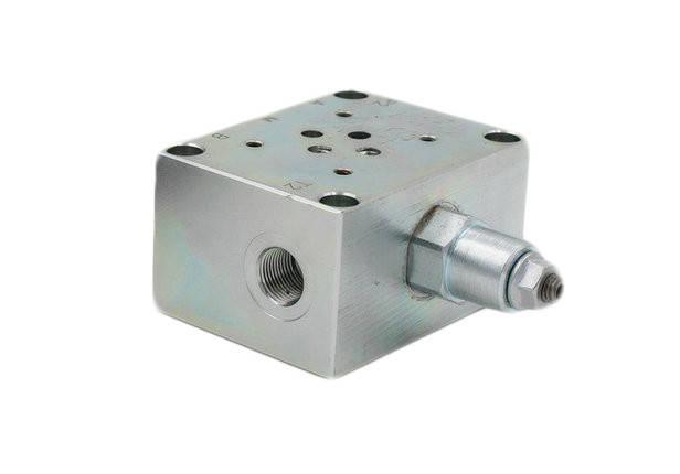 Плита с предохранительным клапаном под ДУ-6  80-300  bar, фото 2